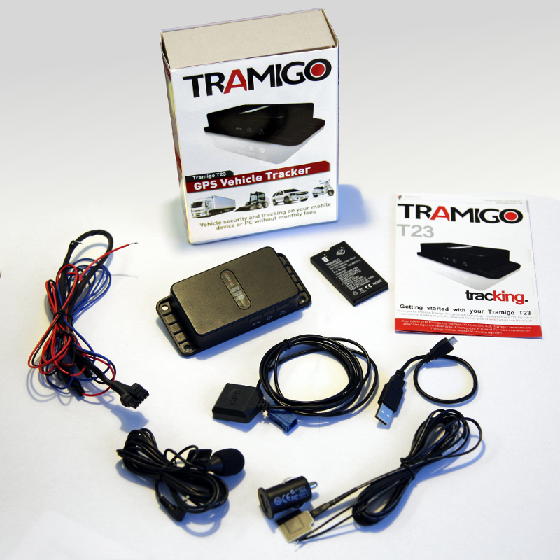 Tramigo Fleet sales box