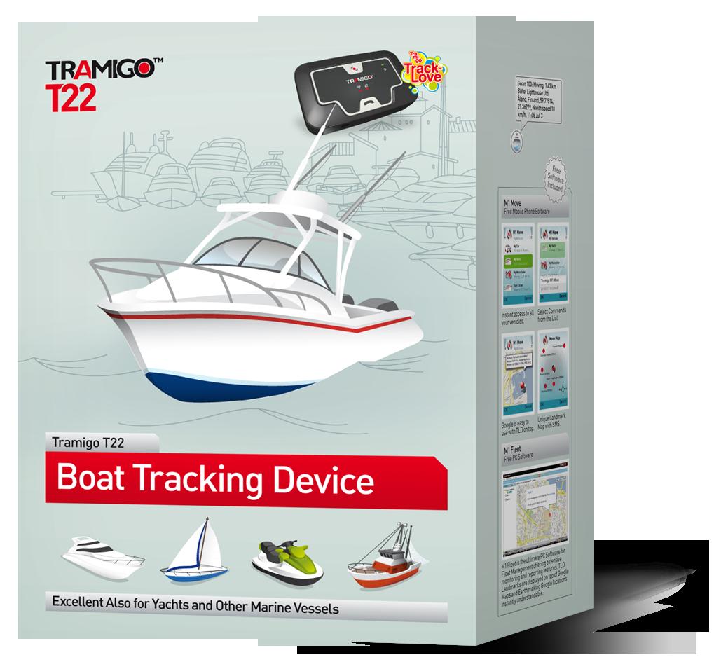 GPS paikannin veneeseen: Tramigo T22 Boat
