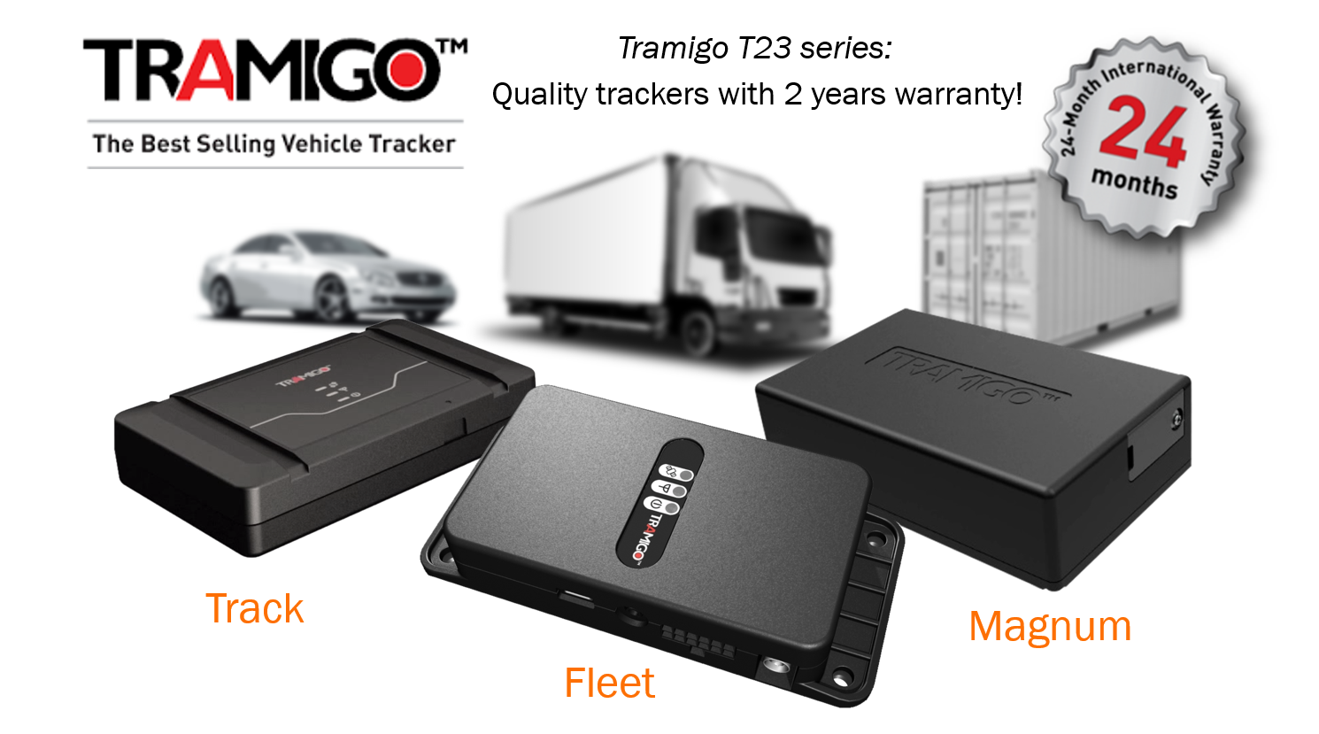 Tracking devices for fleet, cars and containers